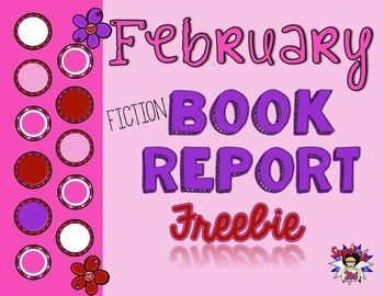 Freebie February Fiction Book Report