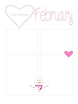 February Newsletter Template