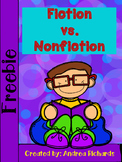Freebie Fiction Vs. Nonfiction Texts