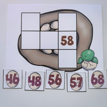 Go Math! Chapter 6 Freebie: Fill the Nest