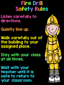 Freebie Fire Drill Safety Rules