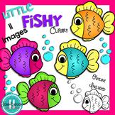 **Freebie** Fish Clipart