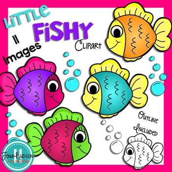 **Freebie** Fish Clipart
