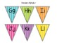 Freebie! Flag Banner Alphabet and Numbers