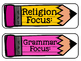 Freebie! Focus Pencil Posters for All Subjects!