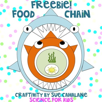 Freebie! Food Chain Craftivity {science}
