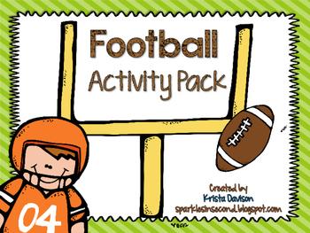 Freebie Football Activity Pack