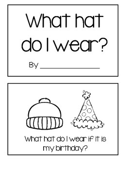 What hat do I wear?
