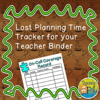 Freebie Form to Track On Call Coverages