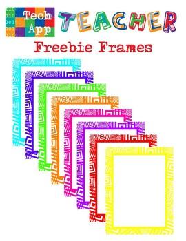 Freebie Frames