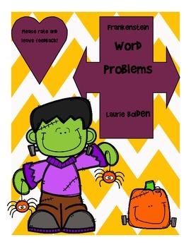 Freebie! Frankenstein Multiplication Word Problems