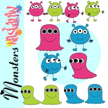 Free Monsters Clip Art