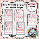 Freebie Friday 1: Pre-writing Notebook pages