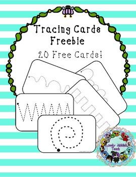 Freebie Friday 11: Tracing Cards