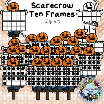 Freebie Friday 21: Scarecrow Ten Frames