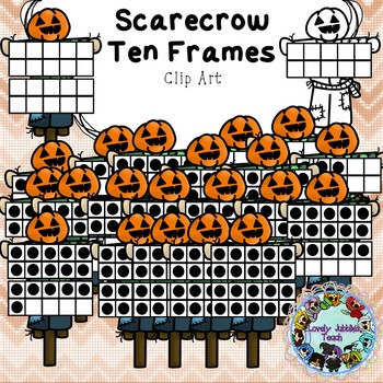 Freebie Friday 21: Scarecrow Ten Frames