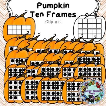 Freebie Friday 22: Pumpkin Ten Frames