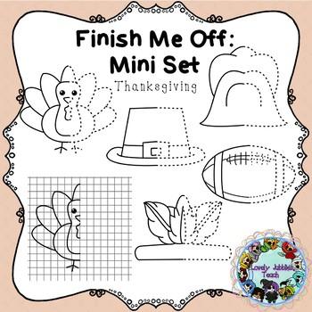 Freebie Friday 26: Finish Me Off Mini Set: Thanksgiving