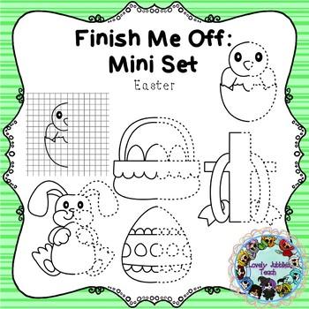 Freebie Friday 29: Finish Me Off Mini Set: Easter