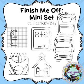 Freebie Friday 30: Finish Me Off Mini Set Back to School