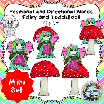 Freebie Friday 47:Positional and Directional Words: Fairy and Toadstool