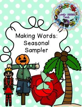 Freebie Friday 56: Making Words Seasonal