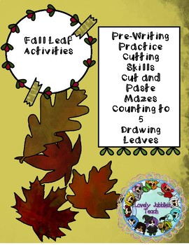Freebie Friday 63: Fall Leaf Themed Activities and Craft