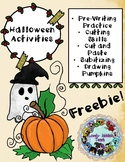 Freebie Friday 69: Pumpkin and Halloween Themed Activities