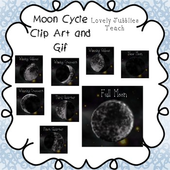 Freebie Friday 7: Moon Phases and GIF