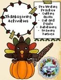 Freebie Friday 70: Thanksgiving/Turkey Themed Activities