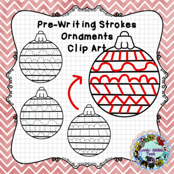 Freebie Friday 72: Ornament Pre-Writing Strokes Clip Art