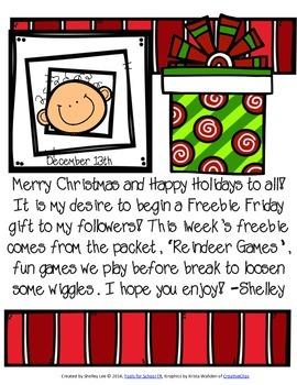 Freebie Friday, December 12