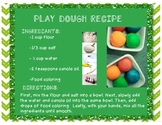 Freebie Friday! Play Dough Recipe and Sequencing Activity
