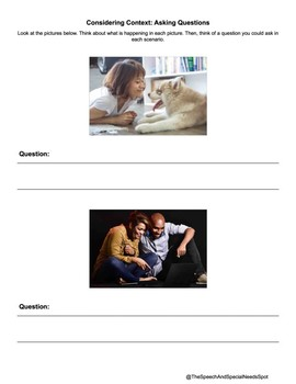 Freebie Friday: Working On Conversation With Visuals