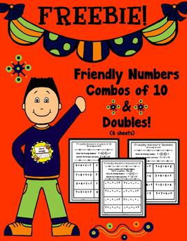Freebie! Friendly Numbers