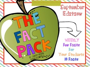 Freebie Fun Facts For Kids {September Edition}
