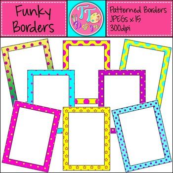 {Freebie} Funky Borders! Clip Art CU OK