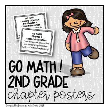 {Freebie!} GO Math! 2nd Grade CHAPTER Essential Questions/
