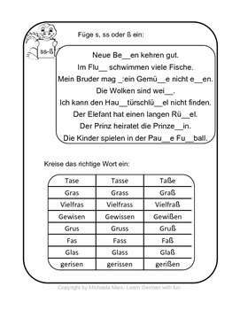 Freebie: German Pronunciation