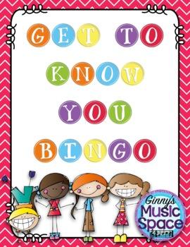 {Freebie} Get To Know You Bingo