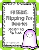 Freebie: Ghostly Halloween Sequencing Flip Book, Story map