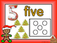 Freebie: Gingerbread Number Sense Playdough Mats 1-5