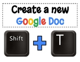 FREEBIE! Google Drive Keyboard Shortcuts - Printable Posters!