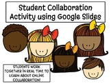 Freebie! Google Slides Student Collaboration - Back to School Intro Activity