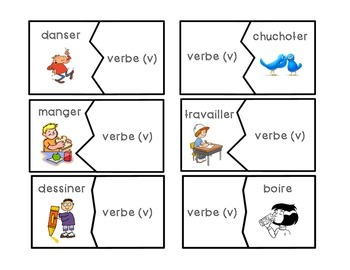 Freebie! Grammar Puzzles in French
