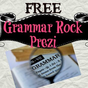 *Freebie* Grammar Rock Prezi