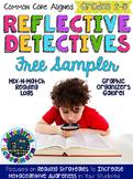 Freebie! Graphic Organizers - Reading Logs - Reflective De