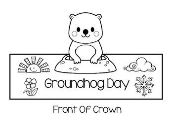 Freebie - Groundhog Day Crown