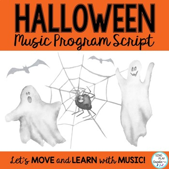 Freebie: Halloween Music Program Script and Guide
