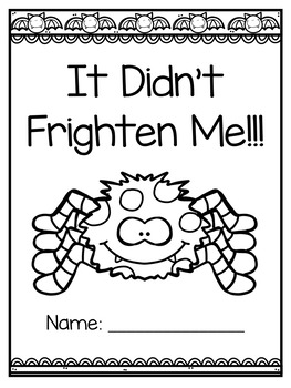 Freebie Halloween Writing (It Didn't Frighten Me!)